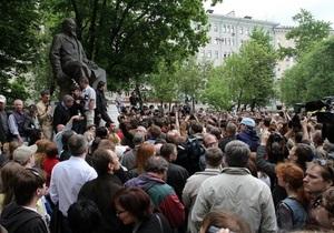 В центре Москвы идет  контрольная прогулка