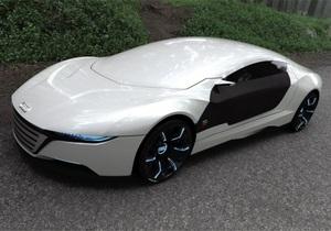 Испанский дизайнер разработал концепт Audi A9 на базе нанотехнологий