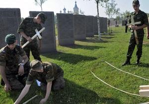 В Воронеже проложили трубопровод по захоронениям немцев