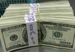Золотовалютные резервы НБУ за месяц уменьшились на треть миллиарда долларов