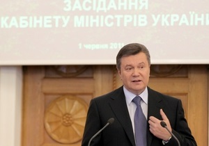 Левочкин: Янукович работает над кадровыми изменениями в Кабмине