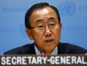 Пан Ги Мун: Сегодня страны тратят на вооружение $1 триллион в год