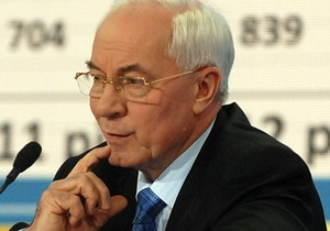 Азаров - Интер - Азаров обвинил во лжи телеканал Хорошковского