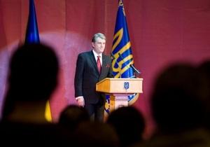 Ющенко внес в Раду законопроект о выборах по мажоритарной системе