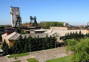 В Донецкой области 146 шахтеров застряли в обесточенной шахте