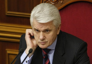 Литвин считает аморальными и преступными заявления о возможном дефолте Украины