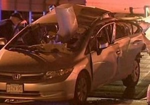 Американка взорвала свой автомобиль, открывая багажник пультом