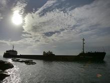 В Керченском проливе затонуло судно