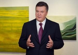 Янукович уповает на социальную справедливость в вопросе повышения цен на газ для украинцев