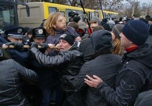 Фотогалерея: Крым восстал против визита Тягнибока