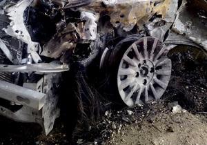 В Киеве сегодня ночью горели 11 автомобилей