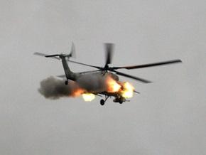 В Чечне боевики обстреляли два военных вертолета