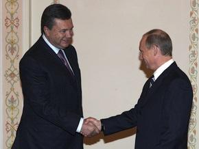 Янукович надеется встретиться сегодня с Путиным