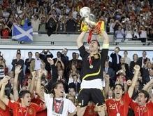 Испанские футболисты назвали причины победы сборной на Евро-2008