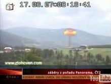 Художники оштрафованы за ядерный взрыв в чешском телеэфире
