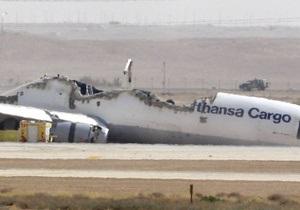 В Саудовской Аравии разбился грузовой самолет