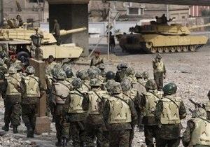 Египетская армия начала разделение противников и сторонников Мубарака
