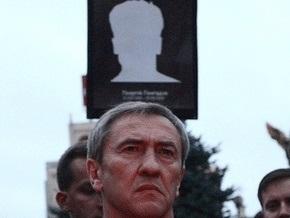 Черновецкий открыл в Киеве памятник Гонгадзе