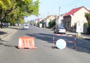 В Ужгороде прошел митинг против плохих дорог