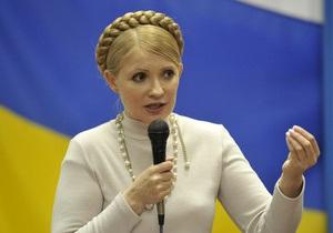 Тимошенко убеждает предпринимателей собрать на акции протеста миллионы людей