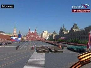 В Москве проходит Парад Победы