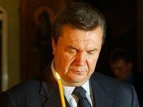 ПР: Янукович лично присутствовал на похоронах Романа Германа