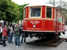 Во Львове открылся пивной трамвай