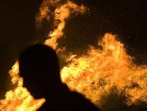 Ночью во Львовской области сгорели купола деревянной церкви