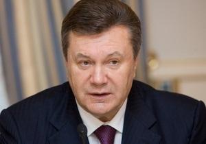 Янукович: Я хочу, чтобы мы не останавливались со строительством автодорог