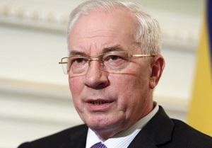 Николай Азаров поздравил украинцев с Рождеством