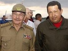 Уго Чавес встретился с Кастро