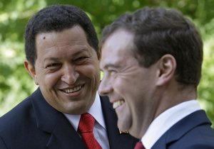 Медведев поужинал с Чавесом