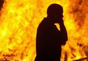 В Черниговской области мужчина сгорел в собственном автомобиле