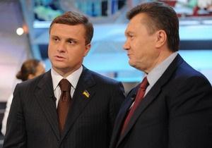 Шуфрич переживает, что Левочкин навредит авторитету Януковича