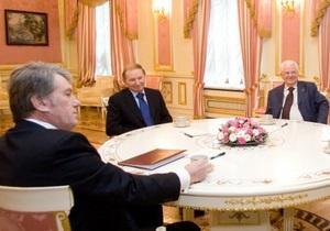 Кравчук: На каком основании Кучма и Ющенко живут на госдачах?