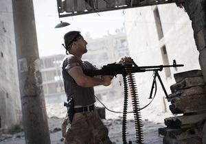 Сирийские повстанцы захватили нефтеперекачивающую станцию