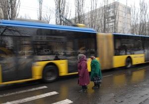 В Киеве 4-5 ноября ограничат движение троллейбусов по маршруту №1