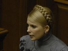 Тимошенко намерена пересмотреть ставки на транзит газа