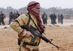 Повстанцы в Сирии заявляют о захвате военного аэропорта