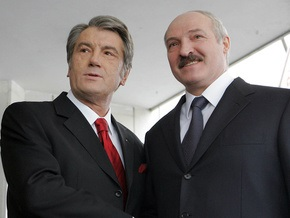 Завтра Ющенко встретится с Лукашенко