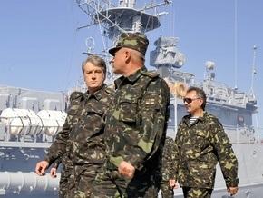 Ющенко требует скорейшей демаркации украино-российской границы