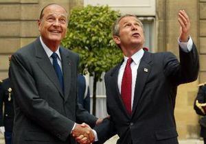Буш: Ширак говорил, что Украина - это часть России