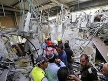 Палестинская ракета попала в торговый центр Ашкелона: десятки пострадавших