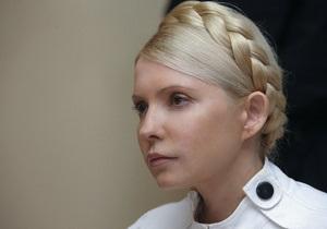 Тимошенко вступила в словесную перепалку с судьей