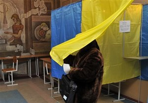 Экзит-полл Gfk Украина: В Черниговский и Волынский облсоветы проходит больше всего депутатов от Батьківщини