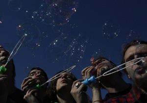 В Петербурге запретили массовый запуск мыльных пузырей