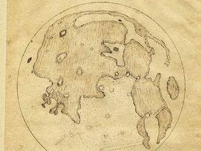 Англичанин опередил Галилея в создании карты Луны, но скромно умолчал об этом