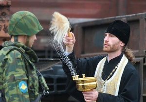 В украинской армии появятся военные священники