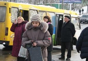 В киевских маршрутках дорожает проезд