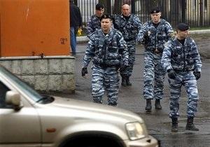 Один из торговых центров Москвы оцепил ОМОН